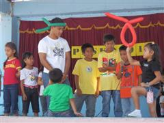 Barangay Sicat Christmas Party 2012